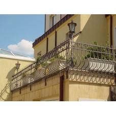 Balkonhek en balustrade Spiros