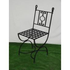 Verwonderlijk Smeedijzeren stoelen en banken, van gietijzer UC-75