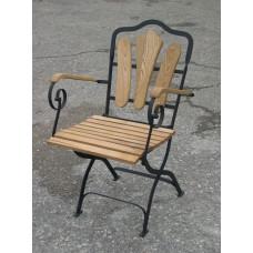 Inklapbare stoel Wave armleuningen